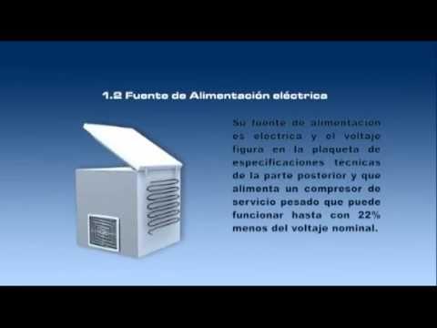 Tutorial de desempaque e Instalación de las neveras y congeladores horizontales para cadena de frío.