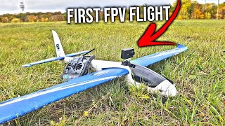First FPV flight Alpha 1500 4K 60FPS