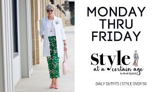 daily outfits   style over 50
