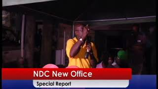 NDC Opens New Office.......Special Report