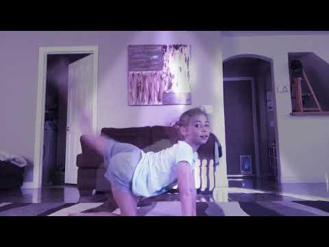 Show gymnastics girl