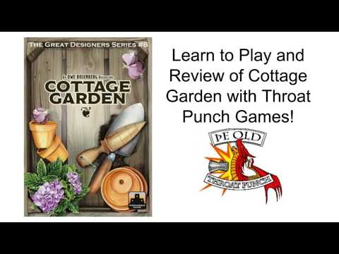 Cottage Garden Unboxing, How to Play, and Review