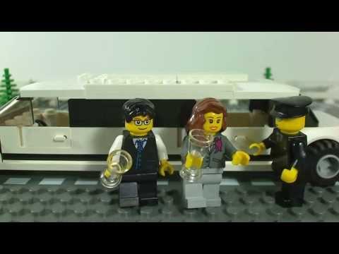 Vidéo LEGO City 3222 : L'hélicoptère et la limousine