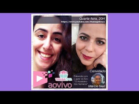 AO VIVO#2 | Entrevista com: Marcio Neri (Autor) | Thaisa Lima