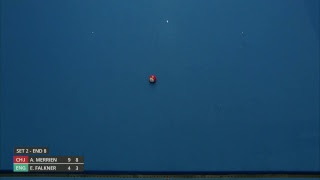 Just. 2019 World Indoor Bowls Championships: Day 13 Session 3