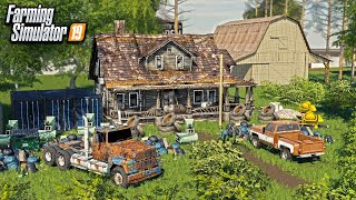 ABANDONED FARM AUCTION- We Bought The Property! (1970's BARN FINDS)   Farming Simulator 2019