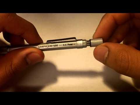 Pentel Graph Gear 500 PG515 Review
