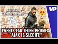 """Promes neemt tijd voor Twente-fan: """"Ajax was HEEL ERG SLECHT!"""""""