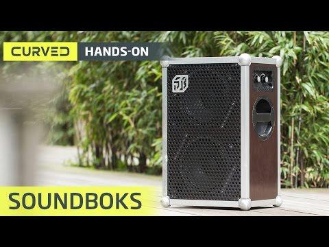 Soundboks im Test: der lauteste (119 db) Akku-Lautsprecher der Welt? | deutsch
