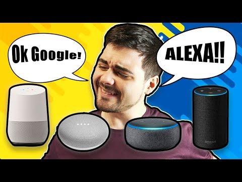 ¿Cual es el mejor asistente inteligente? | Alexa VS Google
