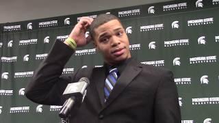 Miles Bridges Talks NCAA #3 Seed, Bucknell Bison & More!