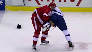 Athanasiou attempts MMA takedown during fight with Erne