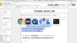 00715 Writing a Java List to XML with JAXB