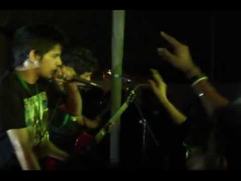 MASS PRODUCTION OF LIES (Friday-The-13Th Original)- Live at 'INCURSION BATTLE OF THE BANDS 2012'