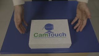 CamTouch PRO, Интерактивный экран, комплектуется двумя стилусами, multitouch от компании DiscoShop - видео