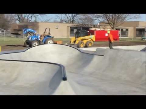 Iowa Community Center Skate Park Demo