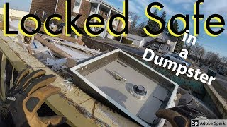 Found a Safe Dumpster Diving | Trash Picking Sycamore