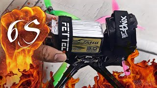 6S FPV Prototype! ???? (First Flight with 6S LIPO) ???? | FPV Freestyle