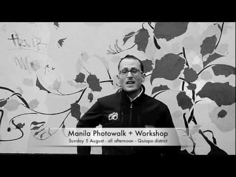 Manila photography event - Sunday 5 August