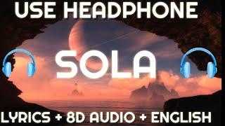 Luis Fonsi   Sola ( Lyrics   Letra  English Version  8D Audio )| English Translation
