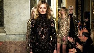 Emilio Pucci Fall 2014 Backstage, Interviews And Runway | Videofashion