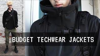 BUDGET TECHWEAR JACKETS
