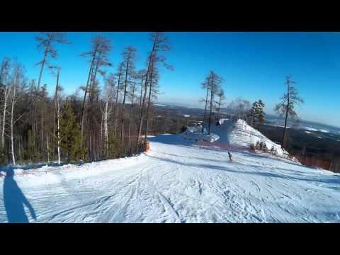 Видео: Видео горнолыжного курорта Гора Егоза в Челябинская область