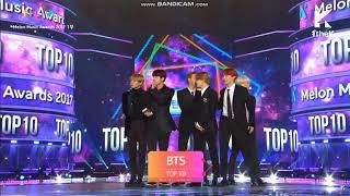 171202 BTS WIN TOP 10 @ 2017 Melon Music Award