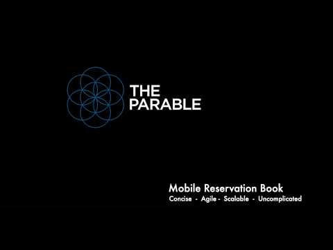 The Parable - How To Edit A Booking