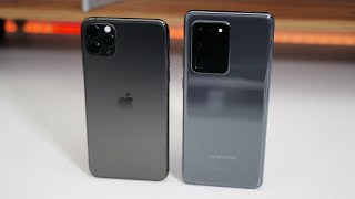 Apple iPhone 11 Pro Max vs Samsung Galaxy S20 Ultra 5G - Which Should You Choose?