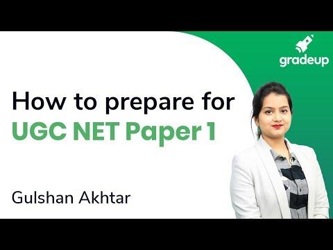 UGC NET June 2020   How to Prepare for UGC NET Paper 1 ...