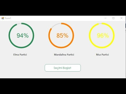 Android Circular Progress Bar With Timer