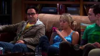 The Big Bang Theory - Sheldon Trains Penny