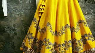 Yellow Color Wedding Dresses