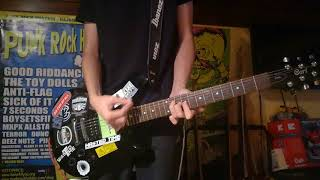 Choking Victim - Infested GUITAR Cover