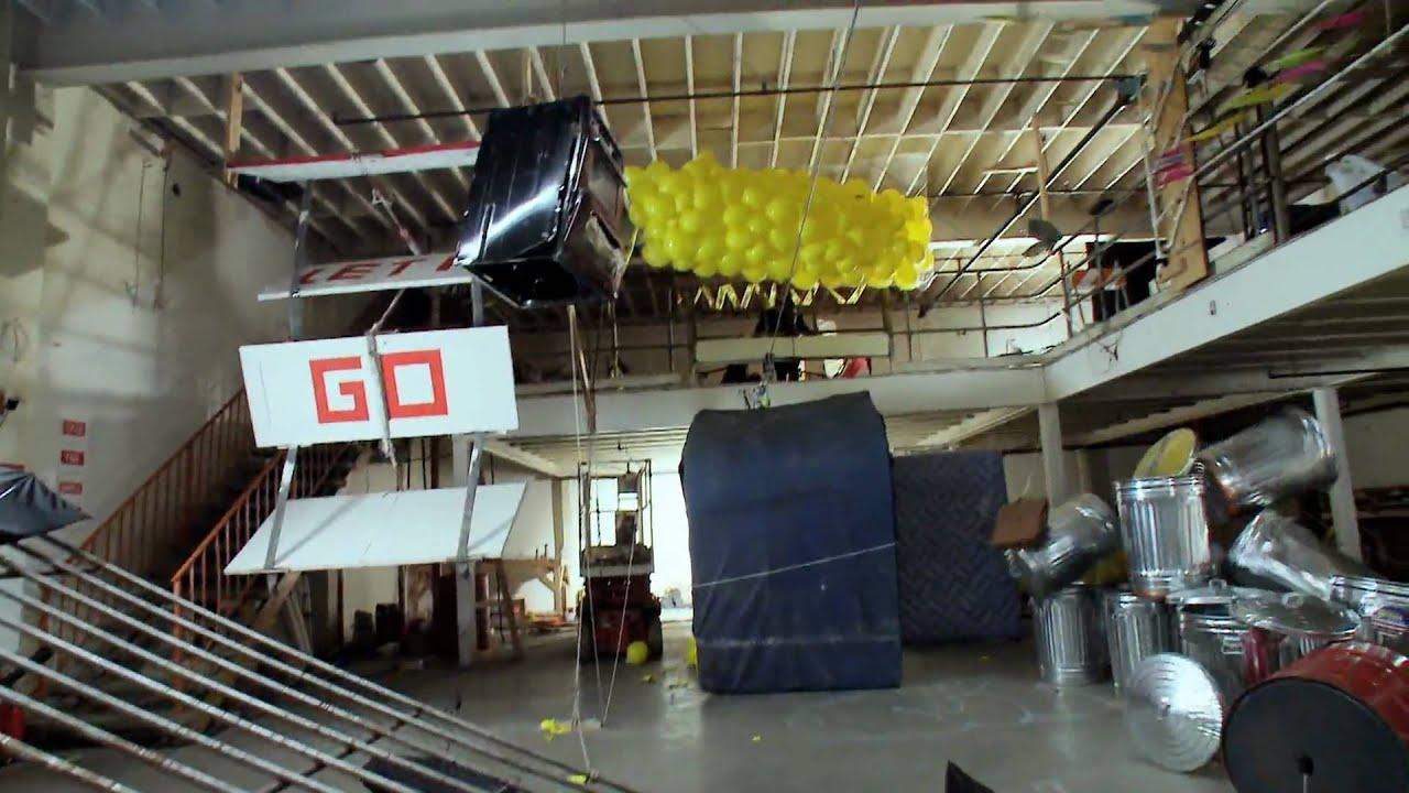 OK Go's Music Video Features Rube Goldberg Machine Sequence