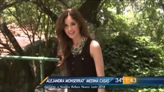 Alejandra Medina Nuestra Belleza Mexico 2014 Finalist from Nuevo León