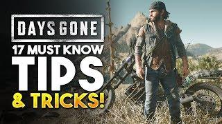 Days Gone Tips & Tricks To Survive! (Days Gone Gameplay)