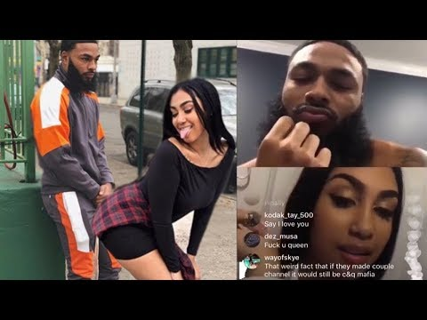 10 minutes of Queen Naija and Clarence NYC being CRINGY AND OVERSEXED, Queen buys a plan B