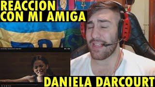 Con Mi Amiga   Daniela Darcourt | Video Oficial (REACCIÓN)