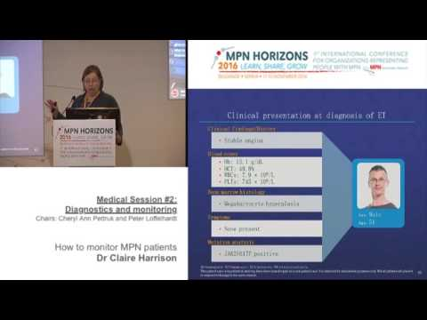Medical session #2: How to monitor MPN patients