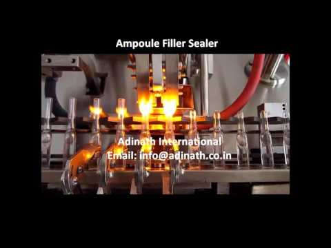 Double Stroke Ampoule Filling Machine