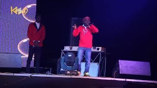 12 Year Old Rapper Vs Seriki On Stage { Nigerian Entertainment}