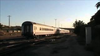 preview picture of video 'Tren Diurno Iberia, Bilbao/Hendaya - Salamanca, con cuatro coches de la serie 9000.'