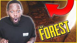 WE FOUND A SECRET CAVE ENTRANCE! - The Forest Walkthrough S2Ep.8