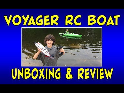 Voyager 2.4 GHZ Remote Control Boat UD1007 | Unboxing & Review