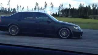 BMW 335ia Cobb Vs Saab 9-5 700hk Nordic