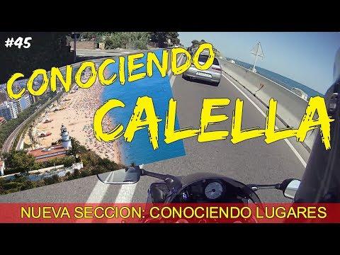 CONOCIENDO LUGARES: CALELLA // JG RIDER Motovlogs en español #45