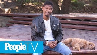 Usher Introduces Us To His Goldendoodle Scarlett - PEOPLE's Sexiest Man's Best Friend | PeopleTV
