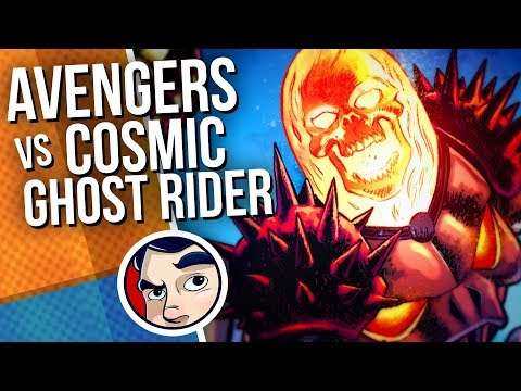 """Avengers """"Vs Cosmic Ghost Rider"""" – Complete Story   Comicstorian"""